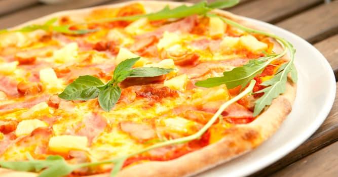 Cultura Pregunta Trivia: ¿Qué fruta se usa como ingrediente de la pizza hawaiana?