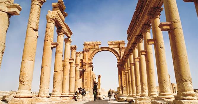 Geografía Pregunta Trivia: ¿Qué significa el nombre de las ruinas de Palmira?
