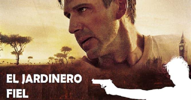 """Películas Pregunta Trivia: ¿Quién dirigió la película """"El jardinero fiel""""?"""