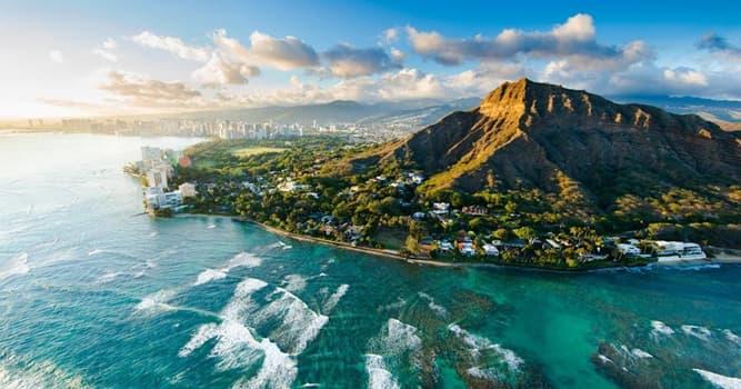 Географія Запитання-цікавинка: Скільки островів і атолів входить до складу Гавайських островів?