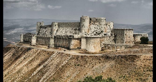 Historia Pregunta Trivia: ¿En qué año fue construida la fortaleza Crac de los Caballeros?
