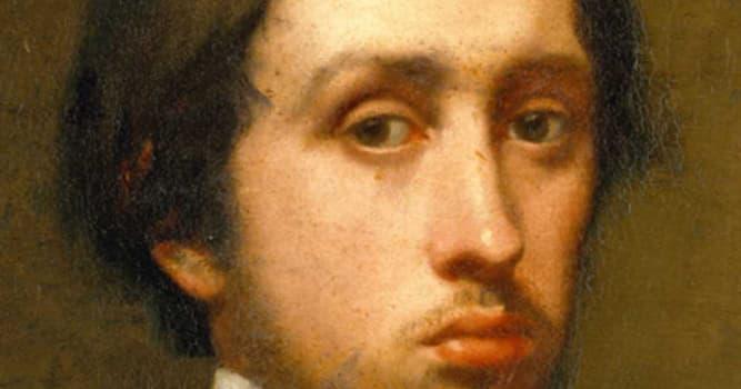 Cultura Pregunta Trivia: ¿Qué famoso pintor realista e impresionista se caracterizó por pintar bailarinas y caballos?
