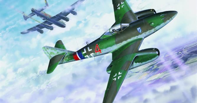 Historia Pregunta Trivia: ¿Qué país o países tuvieron aviones a reacción en servicio activo de combate durante la II Guerra Mundial?