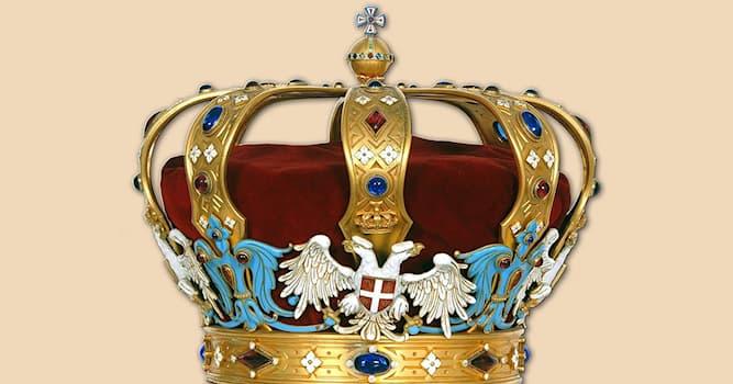 История Вопрос: Из чего была сделана сербская корона династии Карагеоргиевичей?