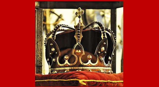 History Trivia Question: The Steel Crown of Romania was captured from which empire?