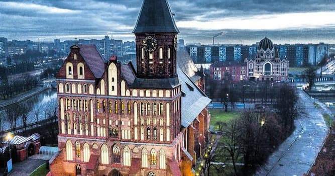 Geography Trivia Question: What was the former name of the city of Kaliningrad until 1946?