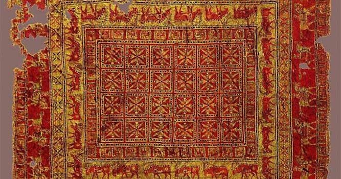 History Trivia Question: What is the name of the oldest surviving pile carpet?