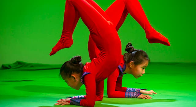Sport Trivia Question: What is the name of the performance where skills of extreme physical flexibility are demonstrated?