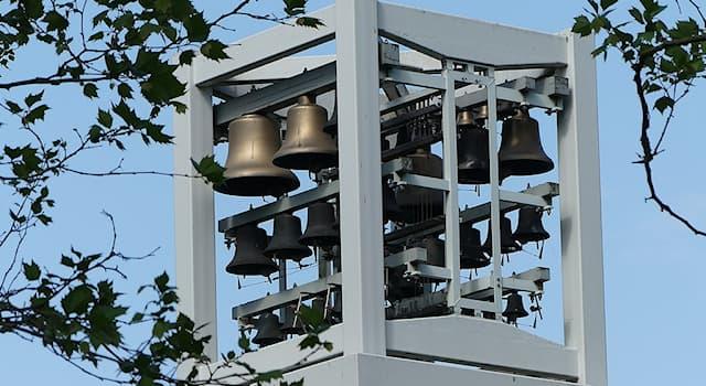 Культура Вопрос: Как называется музыкальный инструмент, представляющий собой набор неподвижно закреплённых колоколов?