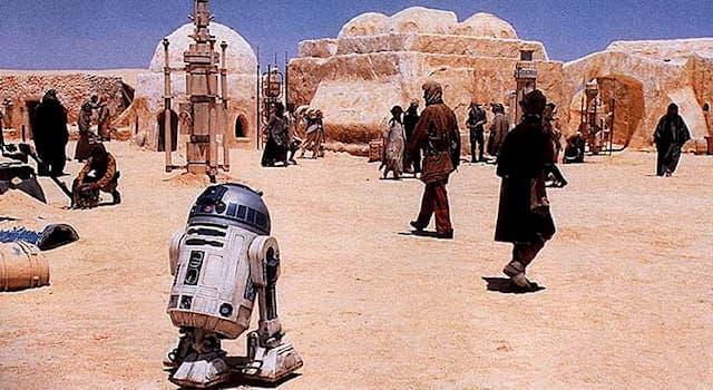 Кино Вопрос: Как называется пустынная планета в киноэпопее «Звёздные войны»?