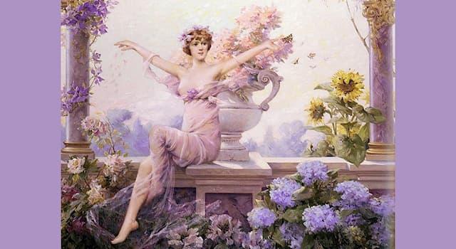 Культура Вопрос: Как зовут древнеримскую богиню цветов, расцвета, весны и полевых плодов?