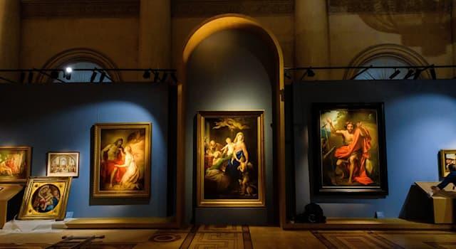 Культура Вопрос: Какая из нижеперечисленных картин пострадала от рук вандала?