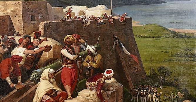 История Вопрос: Какая страна была оккупирована французами в 1830 году за удар мухобойкой по лицу?