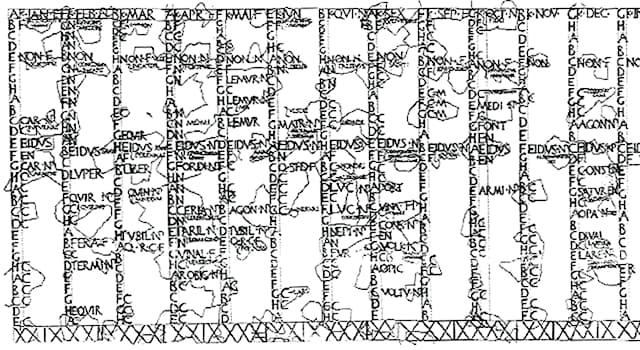 История Вопрос: Каких двух месяцев НЕ было в древнейшем календаре, который действовал в Риме до реформы царя Нумы Помпилия?
