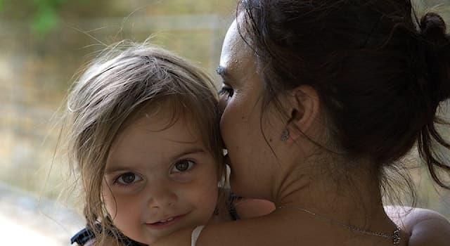 Общество Вопрос: Каким термином обозначают часть родового имени, которая присваивается ребёнку по имени матери?