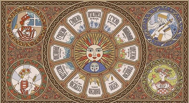 Культура Вопрос: Какое значение имело слово «изок», обозначающее в древнеславянском календаре июнь?