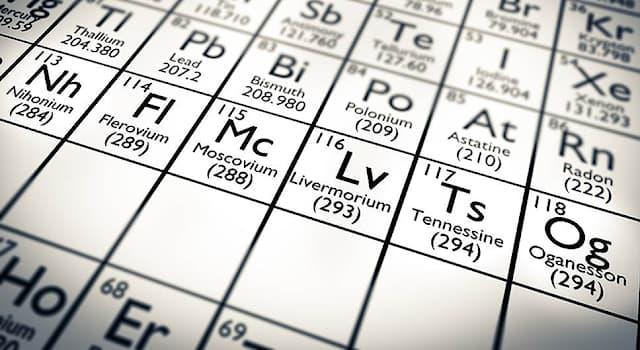 Наука Вопрос: Какой элемент, формально относящийся к галогенам, был получен в 2009 году?