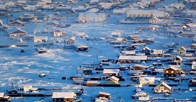 География Вопрос: Какой город имеет самую большую амплитуду температур?