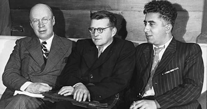 Культура Вопрос: Какой советский композитор умер в один год и в один день с И. В. Сталиным?