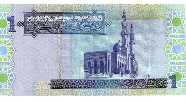 Society Trivia Question: What is the national currency of Libya?