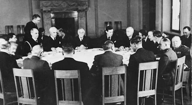 History Trivia Question: What was the aim of the Yalta Conference of the Allied Powers in 1945?