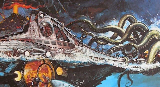 Культура Вопрос: Кто является автором произведения о приключениях капитана Немо?