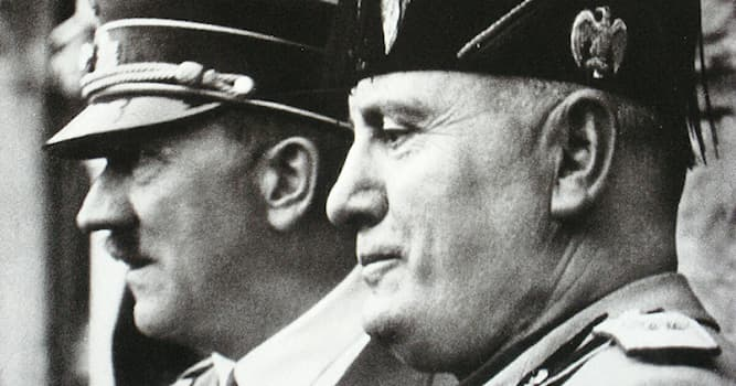 История Вопрос: Кто является родоначальником фашизма в Европе?