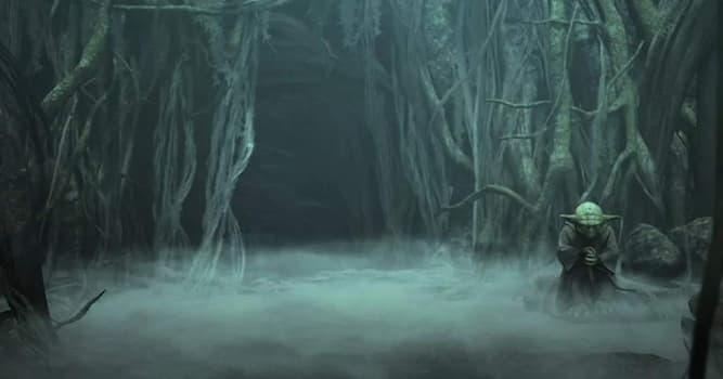"""Кино Вопрос: На какой планете Люк Скайуокер проходил обучение у гранд-мастера Йоды в саге """"Звездные войны""""?"""