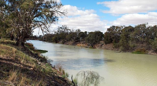 География Вопрос: На каком материке протекает река Дарлинг?