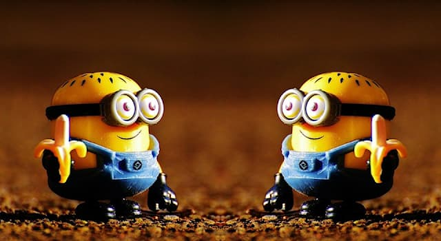 """Movies & TV Trivia Question: Which language do minions speak in the animated movie """"Despicable me""""?"""