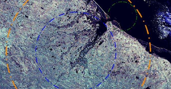 География Вопрос: На территории какой современной страны расположен Карский ударный кратер?