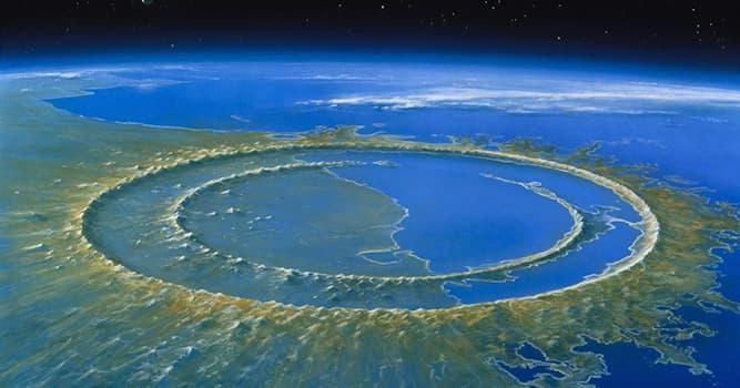 География Вопрос: На территории какой современной страны расположен ударный кратер Чикшулуб?