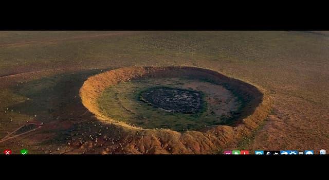 География Вопрос: На территории какой современной страны расположен ударный кратер Тукунука?
