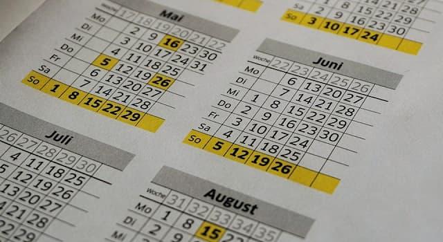 Культура Вопрос: Название какого месяца у некоторых народов мира означает «месяц хлеба», «колея», «лев», «вечная жизнь»?