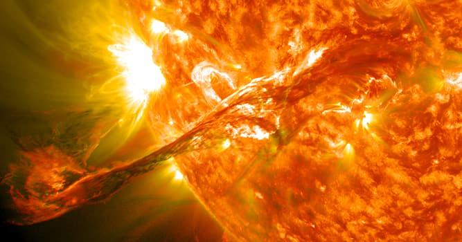 """Сiencia Pregunta Trivia: ¿Qué objeto astronómico tiene una superficie en la que ocurren las llamadas """"protuberancias""""?"""
