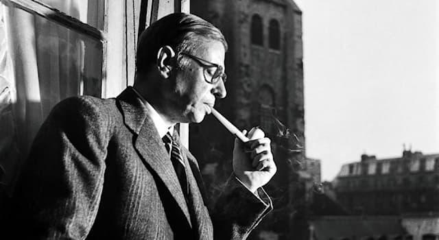 Культура Вопрос: Роман с каким названием написал французский писатель и философ Жан-Поль Сартр?