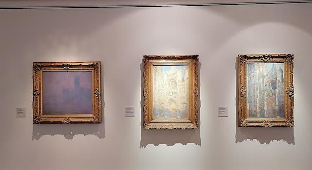 Культура Вопрос: Сколько картин было в серии «Руанский собор», которые написал французский художник-импрессионист Клода Моне?