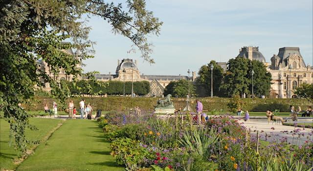 География Вопрос: В центре какого европейского города расположен общественный парк Тюильри?