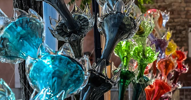 Culture Trivia Question: In which country is Venetian glass (or Murano glass) made?