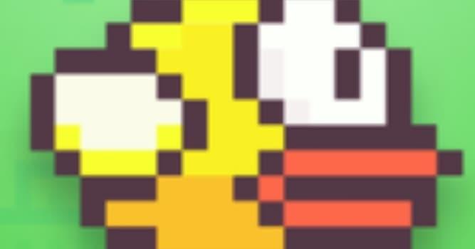 """История Вопрос: В каком году была выпущена игра """"Flappy bird""""?"""