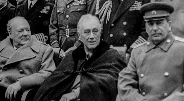 History Trivia Question: When was the Yalta Conference of the Allied Powers held represented by Stalin, Roosevelt and Churchill?