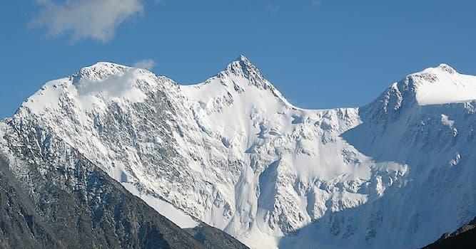 География Вопрос: В каком регионе России находится горная вершина Белуха?