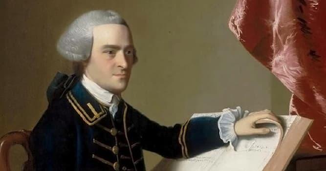 История Вопрос: За что получил большую известность американский государственный деятель Джон Хэнкок в истории США?