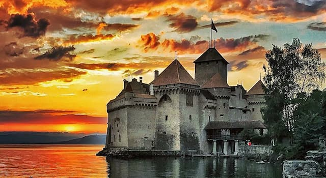 Geography Trivia Question: Chillon Castle is located in which country?