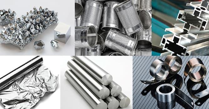 Сiencia Pregunta Trivia: ¿Cuál es el símbolo químico del aluminio?
