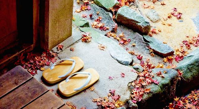 Культура Вопрос: Дзори – это национальная обувь какой страны?