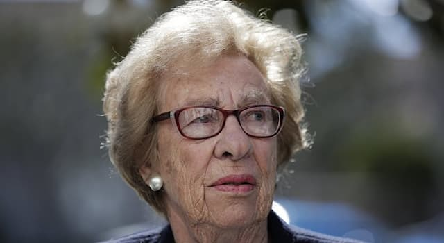 History Trivia Question: Eva Schloss (pictured) is the stepsister of which famous 20th century figure?