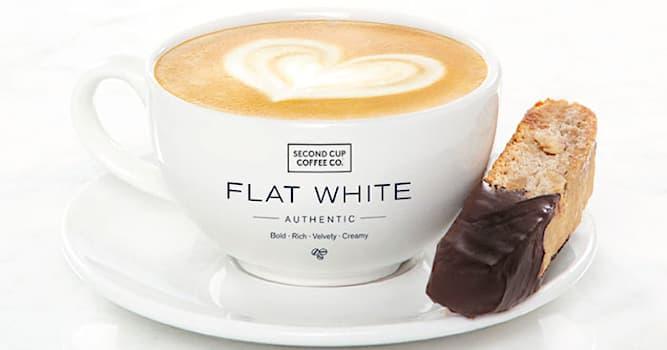 Культура Вопрос: Где был придуман рецепт популярного кофе Флэт уайт?