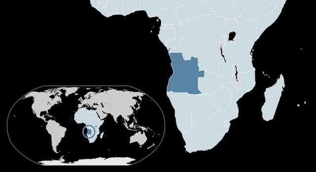 География Вопрос: Где находится государство Ангола?