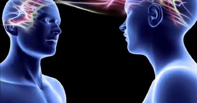 Society Trivia Question: What is the supposed communication of thoughts or ideas by means other than the known senses called?
